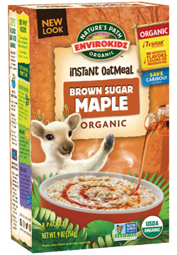 EnviroKidz Oatmeal - Brown Sugar Maple