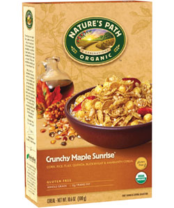 Natures path crunchy maple sunrise 106 oz box new a a delicious warm real maple taste breakfast cereal with a variety of crunchy textures from flakes puffs and crispies make this ccuart Image collections