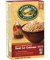 Instant Steel Cut Oatmeal - Maple and Brown Sugar [npa-119059.jpg] - Click for More Information