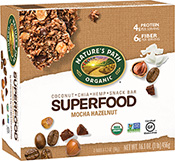 Nature's Path Superfood Snack Bar - Mocha Hazelnut [npa-153238.jpg] - Click for More Information