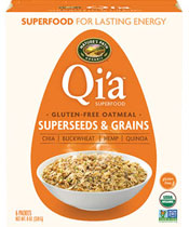 Qi'a™ Superfood Gluten-Free Oatmeal - Superseed & Grains  [npa-154013.jpg] - Click for More Information