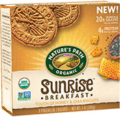 Sunrise Breakfast Biscuit - Touch of Honey & Chia  [npa-160007.jpg] - Click for More Information