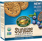 Sunrise Breakfast Biscuit - Blueberry & Chia [npa-160021.jpg] - Click for More Information
