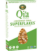 Qi'a™ Superflakes - Coconut Chia [npa-161097.jpg] - Click for More Information