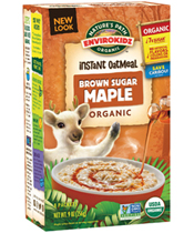 EnviroKidz Oatmeal - Brown Sugar Maple [npa-165002.jpg] - Click for More Information