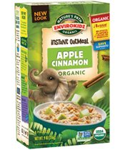 EnviroKidz Oatmeal - Apple Cinnamon [npa-165019.jpg] - Click for More Information
