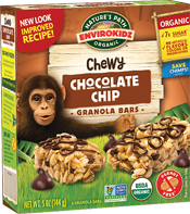EnviroKidz® Milk Chocolate Chip Granola Bar - Buy Now