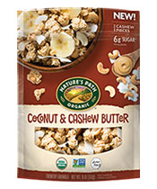 Coconut & Cashew Butter Granola [npa-172017.jpg] - Click for More Information