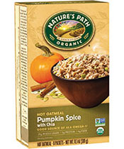 Pumpkin Spice With Chia Hot Oatmeal [npa-174004.jpg] - Click for More Information