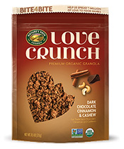 Love Crunch® - Chocolate Cinnamon & Cashew [npa-182009.jpg] - Click for More Information