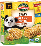 EnviroKidz® Peanut Butter Crispy Rice Bar - Buy Now