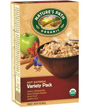Click here to purchase Variety Pack Oatmeal