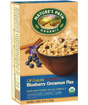 Click here to purchase Optimum  Power® Blueberry Cinnamon Flax Oatmeal