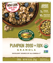 Pumpkin Seed + Flax Granola [npa-890072.jpg] - Click for More Information