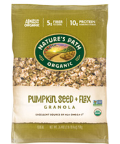 Pumpkin Seed + Flax Granola – ECO PAC [npa-890201.jpg] - Click for More Information