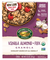 Vanilla Almond + Flax Granola [npa-890256.jpg] - Click for More Information