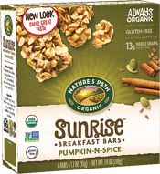Pumpkin-N-Spice™ Flax Plus® Granola Bars - Buy Now