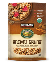 Kirkland Signature by Nature's Path Organic Ancient Grains Granola with Almonds [npa-94700.jpg] - Click for More Information